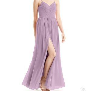 Azazie Cora bridesmaid dress in Wisteria size A10